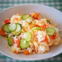 トマト塩麹リゾット風レシピ