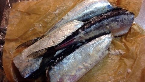 秋刀魚の塩麹