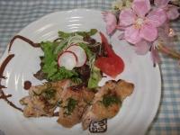 鶏肉の味噌ヨーグルトステーキ
