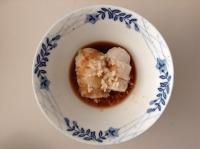 里芋の麹餡かけ